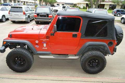 1997 Jeep Wrangler for sale at E-Auto Groups in Dallas TX