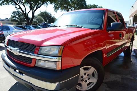 2005 Chevrolet Silverado 1500 for sale at E-Auto Groups in Dallas TX