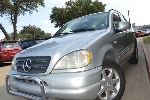 2000 Mercedes-Benz M-Class for sale at E-Auto Groups in Dallas TX