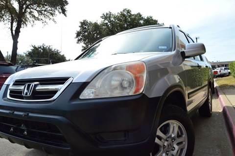 2002 Honda CR-V for sale at E-Auto Groups in Dallas TX
