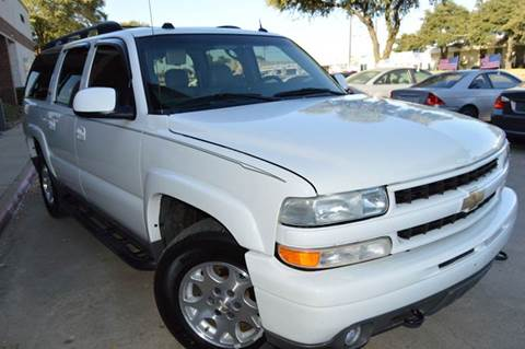 2005 Chevrolet Suburban for sale at E-Auto Groups in Dallas TX