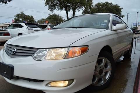 2003 Toyota Camry Solara for sale at E-Auto Groups in Dallas TX