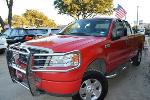 2005 Ford F-150 for sale at E-Auto Groups in Dallas TX