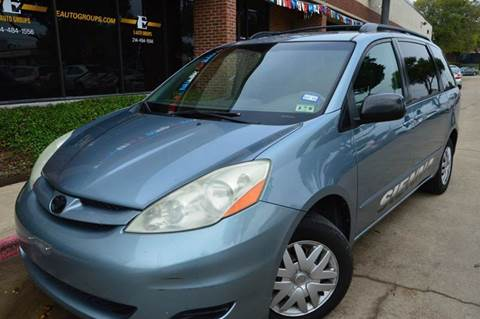 2006 Toyota Sienna for sale at E-Auto Groups in Dallas TX
