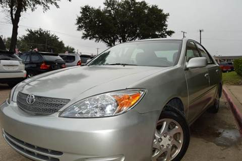 2002 Toyota Camry for sale at E-Auto Groups in Dallas TX