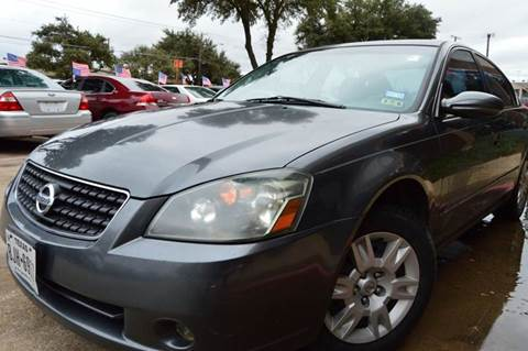 2006 Nissan Altima for sale at E-Auto Groups in Dallas TX