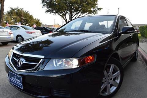 2004 Acura TSX for sale at E-Auto Groups in Dallas TX