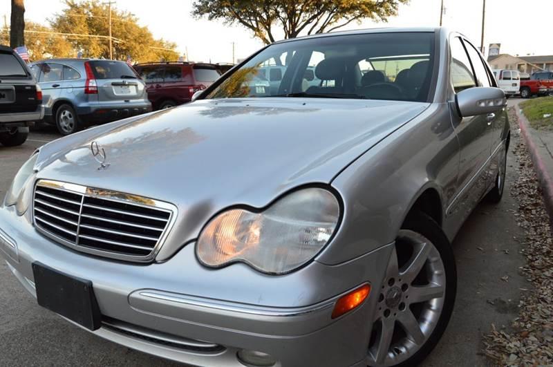 2003 Mercedes Benz C Class C230 Kompressor 4dr Sedan In Dallas Tx