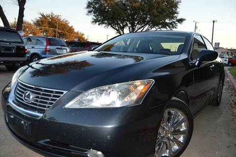 2008 Lexus ES 350 for sale at E-Auto Groups in Dallas TX