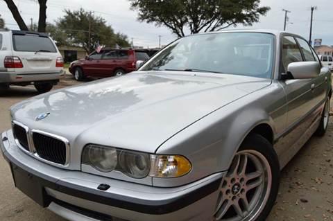 2001 BMW 7 Series for sale at E-Auto Groups in Dallas TX