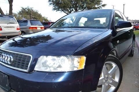 2003 Audi A4 for sale at E-Auto Groups in Dallas TX