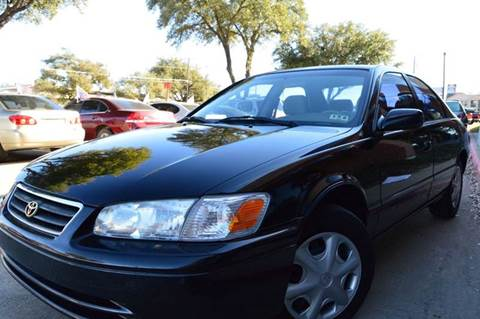 2001 Toyota Camry for sale at E-Auto Groups in Dallas TX