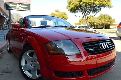 2001 Audi TT for sale at E-Auto Groups in Dallas TX