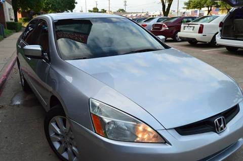 2006 Honda Accord for sale at E-Auto Groups in Dallas TX