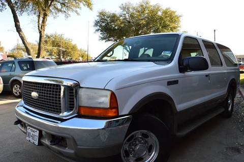 2001 Ford Excursion for sale at E-Auto Groups in Dallas TX