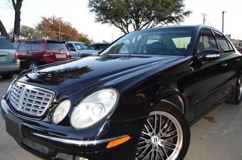 2006 Mercedes-Benz E-Class for sale at E-Auto Groups in Dallas TX