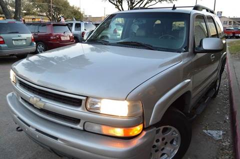 2006 Chevrolet Tahoe for sale at E-Auto Groups in Dallas TX
