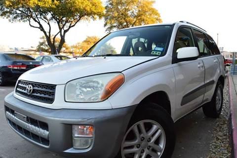 2001 Toyota RAV4 for sale at E-Auto Groups in Dallas TX