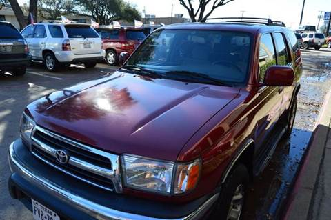 1999 Toyota 4Runner for sale at E-Auto Groups in Dallas TX