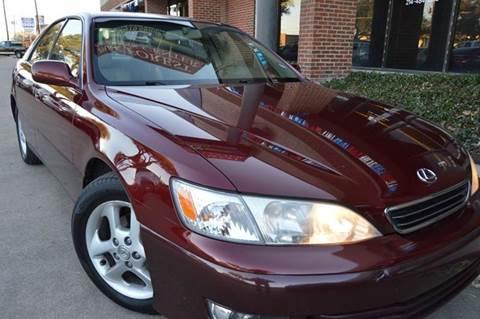 2001 Lexus ES 300 for sale at E-Auto Groups in Dallas TX