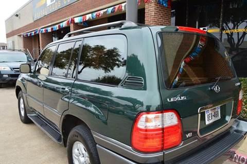 1999 Lexus LX 470 for sale at E-Auto Groups in Dallas TX
