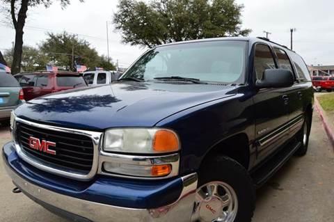 2000 GMC Yukon XL for sale at E-Auto Groups in Dallas TX