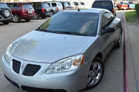 2008 Pontiac G6 for sale at E-Auto Groups in Dallas TX