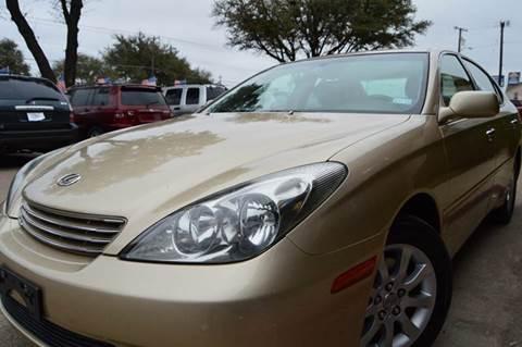 2002 Lexus ES 300 for sale at E-Auto Groups in Dallas TX