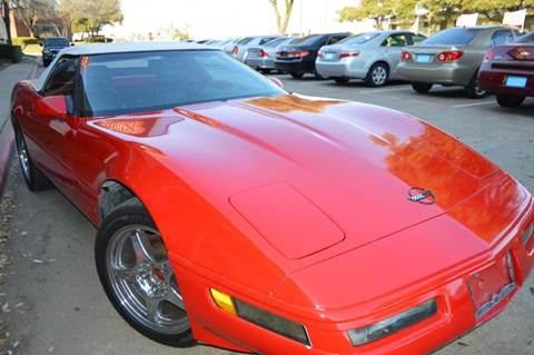 1992 Chevrolet Corvette for sale at E-Auto Groups in Dallas TX