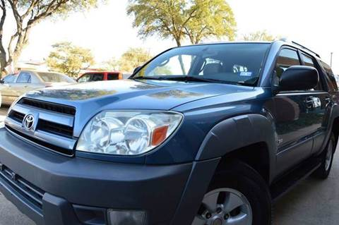 2003 Toyota 4Runner for sale at E-Auto Groups in Dallas TX