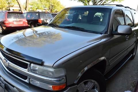 2001 Chevrolet Suburban for sale at E-Auto Groups in Dallas TX