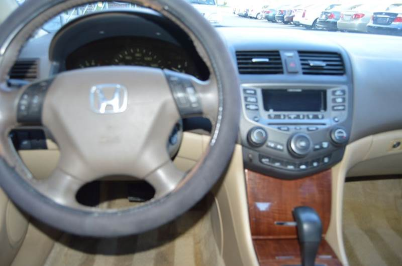 2007 Honda Accord Ex L >> 2007 Honda Accord Ex L V 6 4dr Sedan 3l V6 5a In Dallas Tx