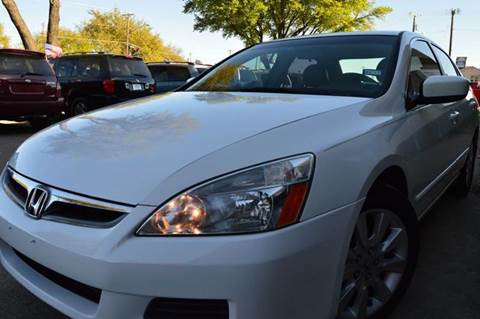2007 Honda Accord for sale at E-Auto Groups in Dallas TX