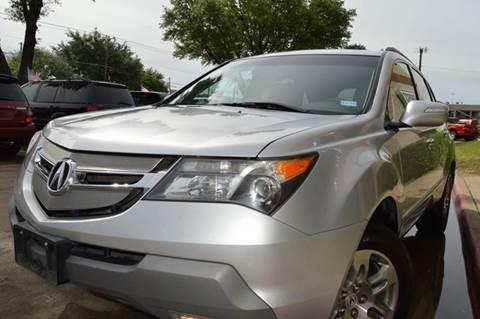 2007 Acura MDX for sale at E-Auto Groups in Dallas TX