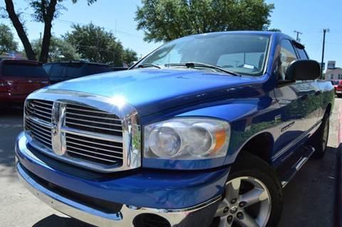 2007 Dodge Ram Pickup 1500 for sale at E-Auto Groups in Dallas TX