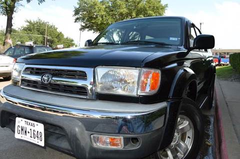 2000 Toyota 4Runner for sale at E-Auto Groups in Dallas TX