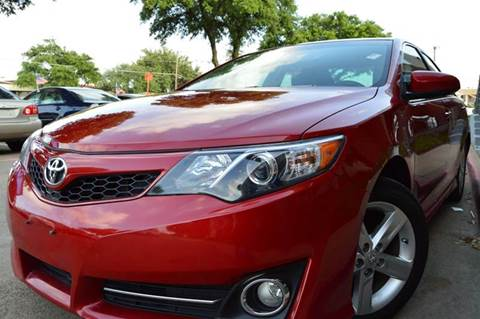 2013 Toyota Camry for sale at E-Auto Groups in Dallas TX