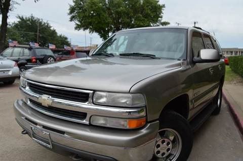 2000 Chevrolet Tahoe for sale at E-Auto Groups in Dallas TX