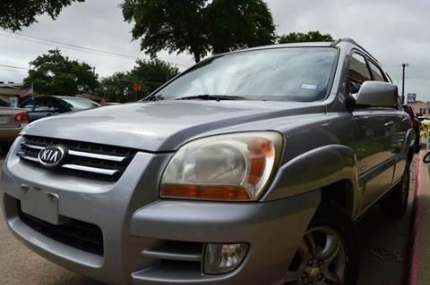 2005 Kia Sportage for sale at E-Auto Groups in Dallas TX