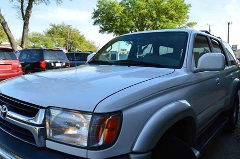 2001 Toyota 4Runner for sale at E-Auto Groups in Dallas TX
