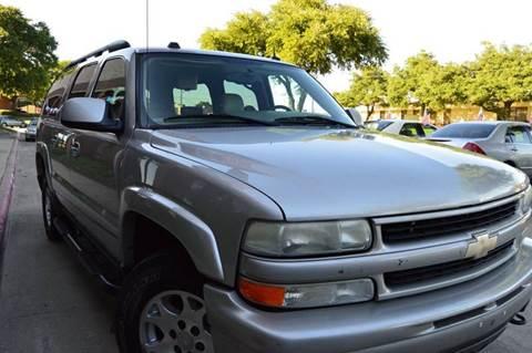 2004 Chevrolet Suburban for sale at E-Auto Groups in Dallas TX