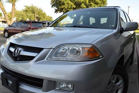 2004 Acura MDX for sale at E-Auto Groups in Dallas TX