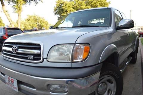 2000 Toyota Tundra for sale at E-Auto Groups in Dallas TX