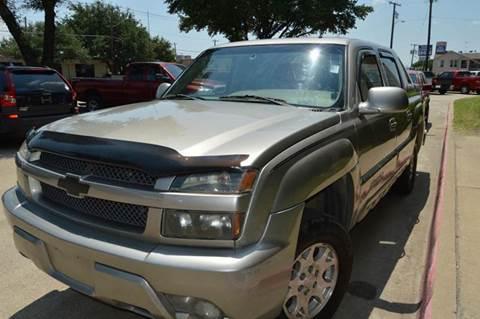 2002 Chevrolet Avalanche for sale at E-Auto Groups in Dallas TX