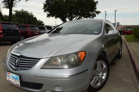2005 Acura RL for sale at E-Auto Groups in Dallas TX