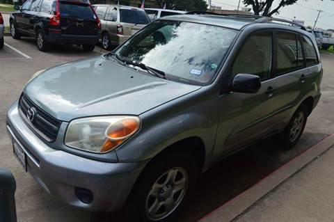 2004 Toyota RAV4 for sale at E-Auto Groups in Dallas TX
