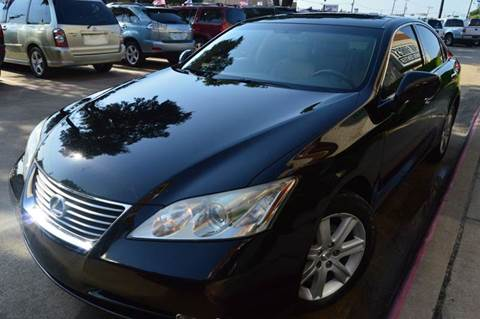2007 Lexus ES 350 for sale at E-Auto Groups in Dallas TX
