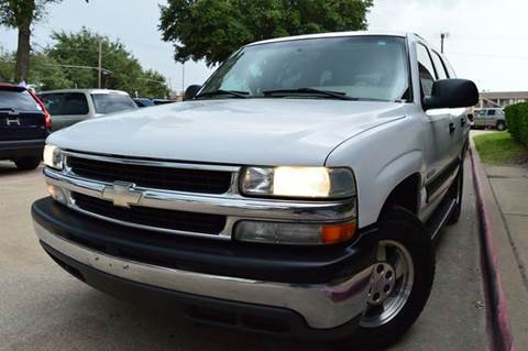 2003 Chevrolet Tahoe for sale at E-Auto Groups in Dallas TX