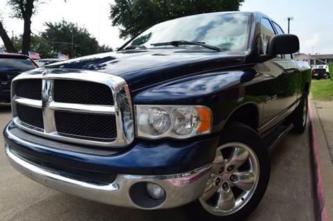 2004 Dodge Ram Pickup 1500 for sale at E-Auto Groups in Dallas TX