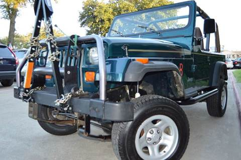 1995 Jeep Wrangler for sale at E-Auto Groups in Dallas TX